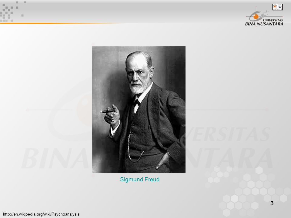 3 Sigmund Freud