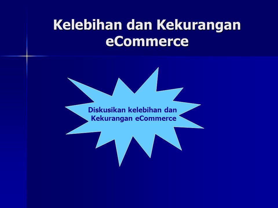 Kelebihan dan Kekurangan eCommerce Diskusikan kelebihan dan Kekurangan eCommerce