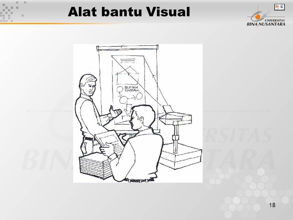 18 Alat bantu Visual