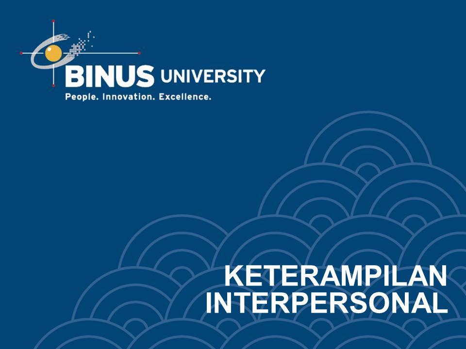 Bina Nusantara BAB XIII KEPEMIMPINAN DAN PEMBERDAYAAN Pertemuan 13