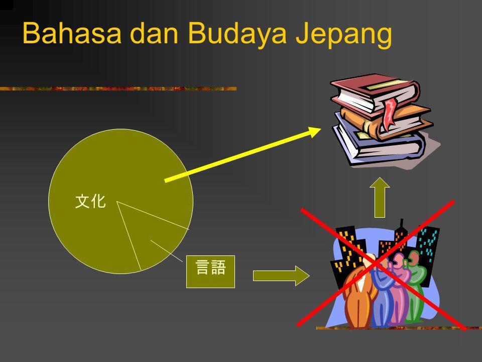 Tipologi bahasa menurut keaktifan subjek Subjek ikut terlibat aktif  する文化.