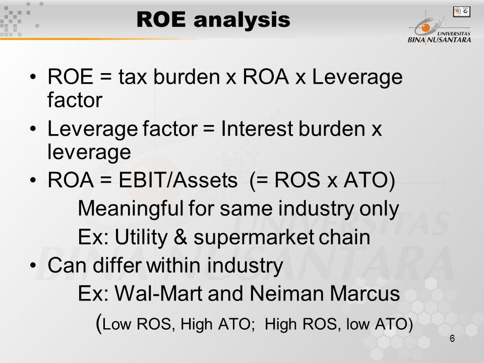 7 Ratio Analysis Turnover ratios: Use average B/S amount Comparability Accounting v.