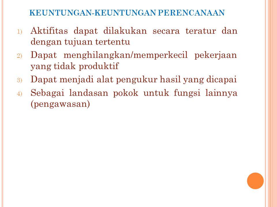 Wewenang staf : sebagai penasihat Penerima wewenang staf : pejabat staf (staff officer) A.