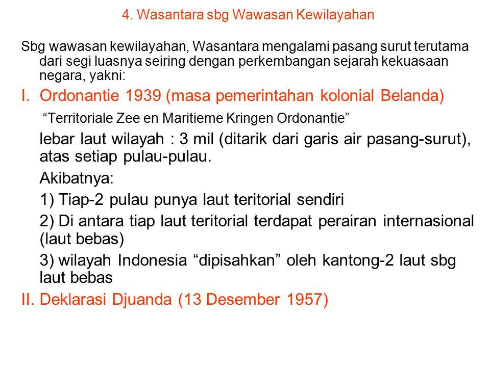 2. Wasantara sbg Wawasan Bangnas (lanjutan…) Wasantara sbg cara pandang dan sikap bgs Ind mengenai diri dan lingkungannya dengan mengutamakan persatua