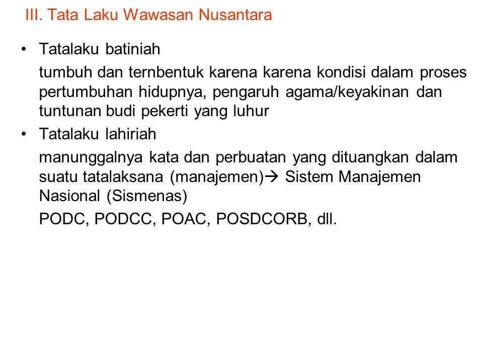 """II. Isi Wawasan Nusantara a.Tujuan alinea IV Pemb UUD 1945 """"… membentuk suatu pemerintah neg Indonesia yang MSS, MKU, MKB, IMKD yang berdasarkan ….."""""""