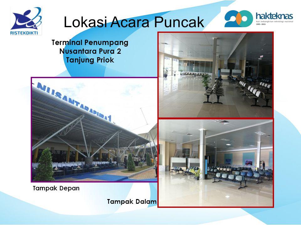 Tampak Depan Tampak Dalam Lokasi Acara Puncak Terminal Penumpang Nusantara Pura 2 Tanjung Priok