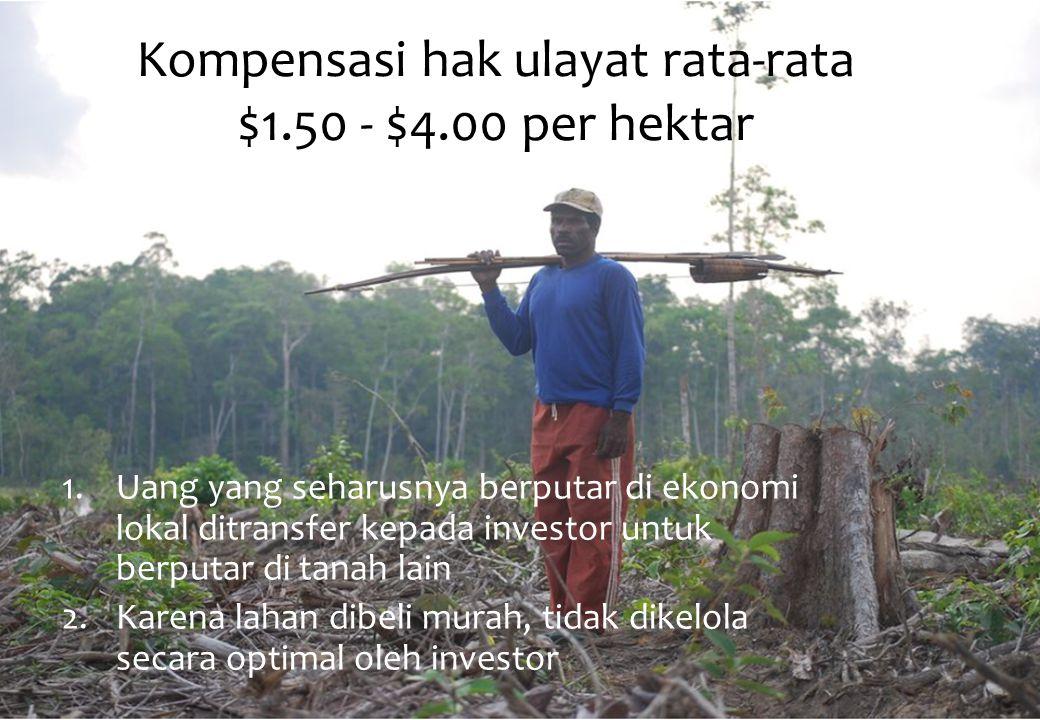 Kawasan HutanJumlah Kampung Hutan Primer Hutan Sekunder Non HutanJumlah dan (%) Hutan Konservasi 58 29 102 189 (9%) Hutan Lindung 112 44 243 399 (19%) Hutan Produksi 114106 247 467 (22%) Hutan Produksi Konversi (HPK) 130 80 501 711 (34%) Jumlah pada Kaw.