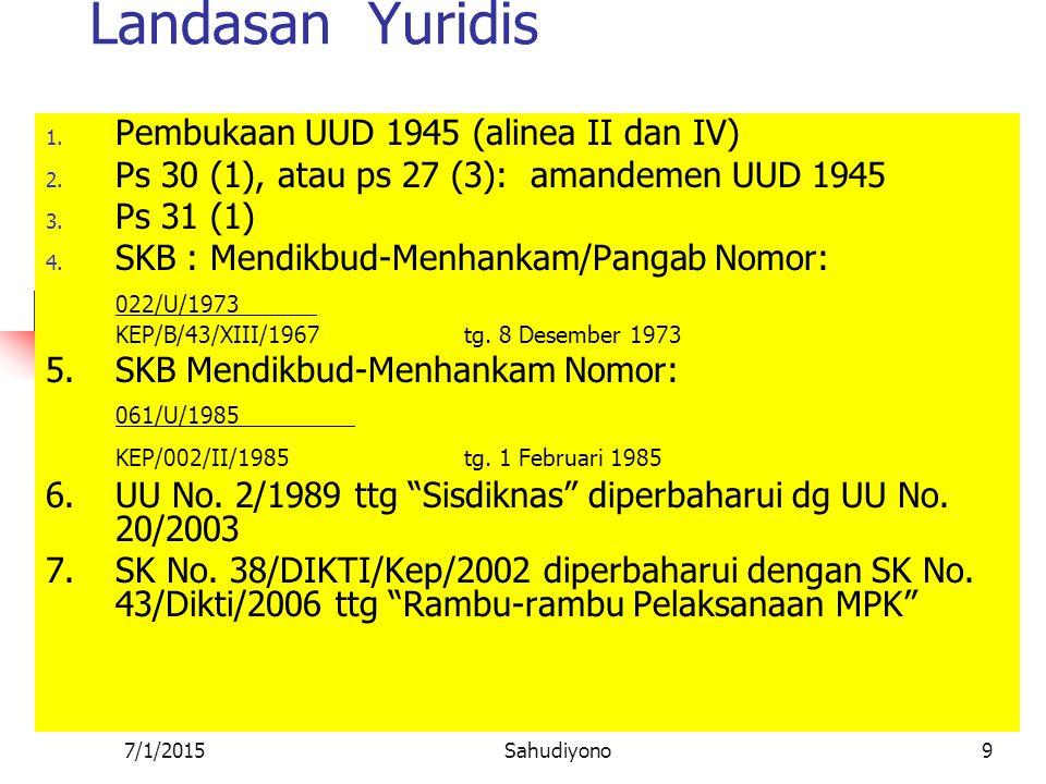 7/1/2015Sahudiyono19 Proses terbentuknya Bangsa Ada dua model : ortodoks dan mutakhir (Surbakti, 1999)  Model ortodoks Bermula dari ada bangsa lebih dahulu yang kemudian membentuk negara.