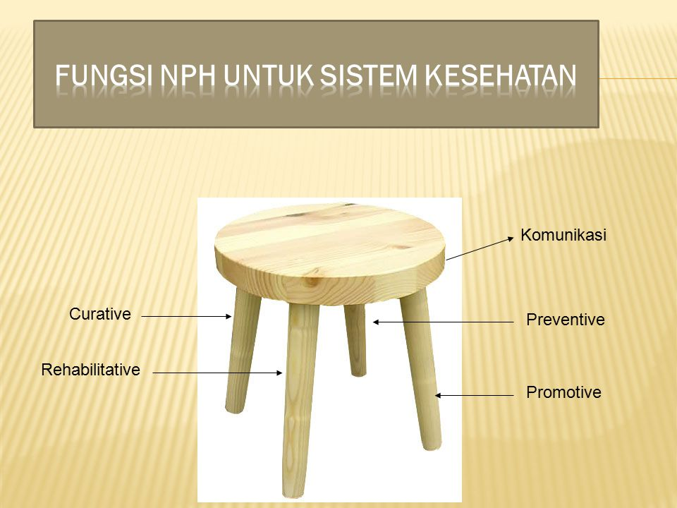 Curative Preventive Rehabilitative Promotive Komunikasi