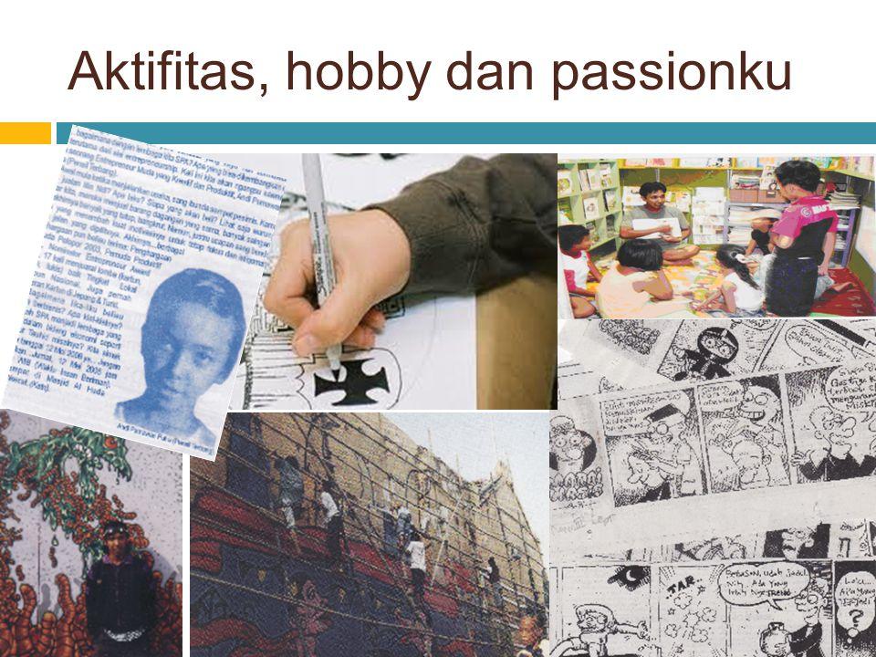 Aktifitas, hobby dan passionku