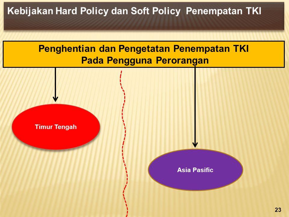 Penghentian dan Pengetatan Penempatan TKI Pada Pengguna Perorangan 23 Asia Pasific Timur Tengah