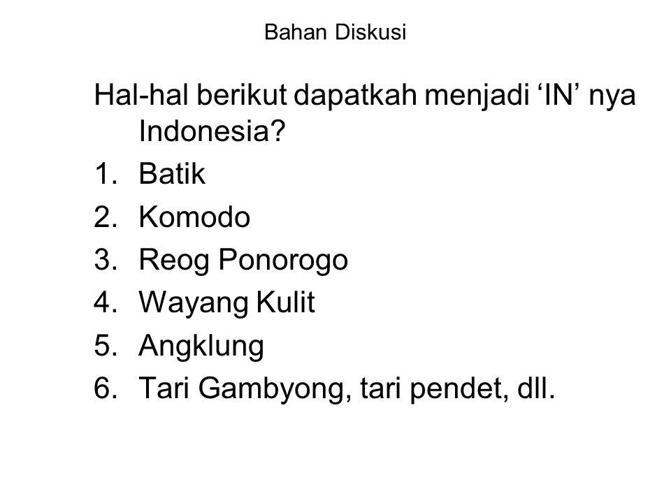 Identitas Nasional Indonesia Bgs Ind'sia, relatif berhasil dlm membentuk identitas nasionalnya, hanya dlm hal ideologi yg pembentukannya sangat alot.