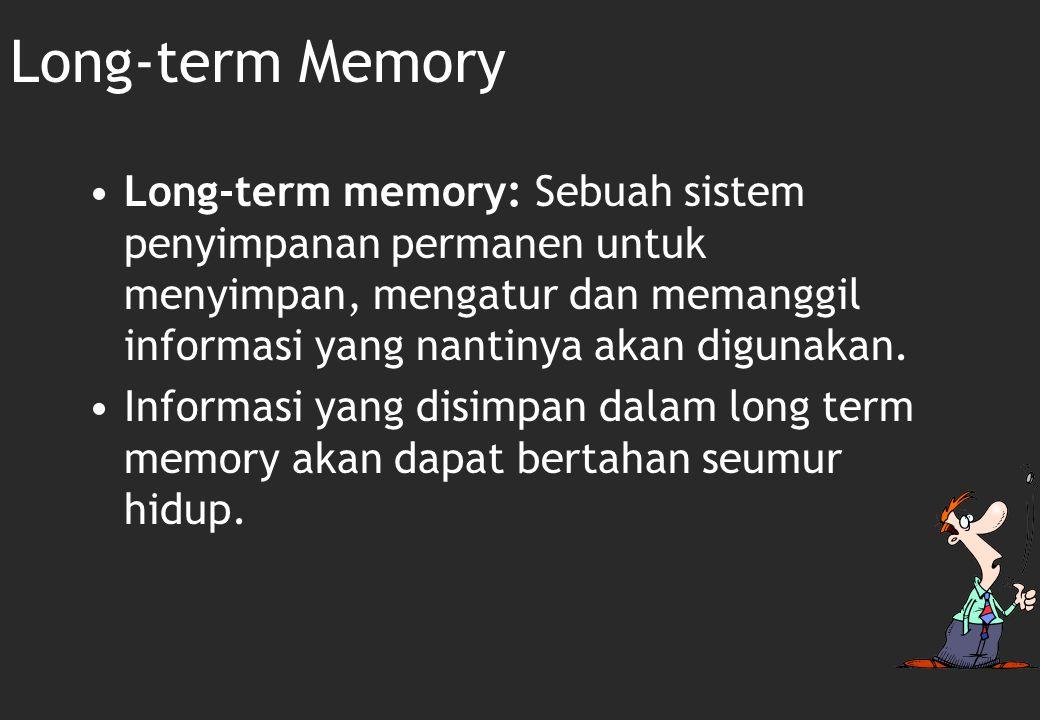 Konsekuensi dari Working Memory Limits  Minimize Confusability  A5433 and A5423  2 dan 3 bisa membuat confused  Pemisahan spasial  Hindarkan angka nol yang tidak berguna untuk diingat  Pertimbangkan keterbatasan dalam mengingat  Do A.