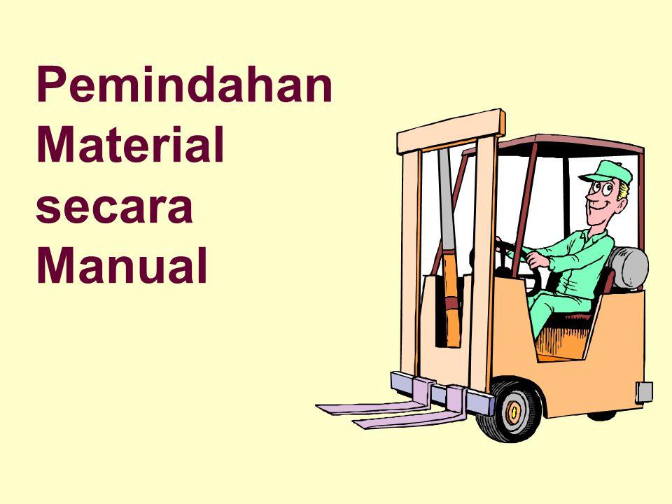 Pemindahan Material secara Manual