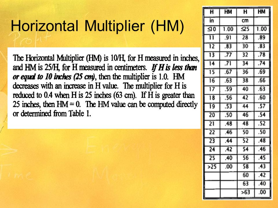 Horizontal Multiplier (HM)
