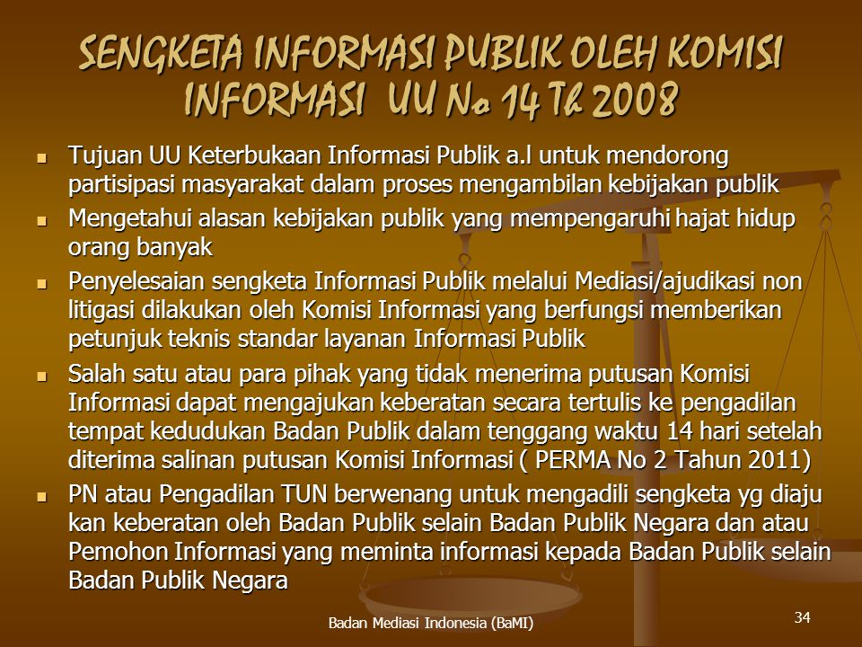 PENYELESAIAN MELALUI MEDIASI HUBUNGAN INDUSTRIAL Penyelesaian PHI diatur dalam UU No 2 tahun 2004.