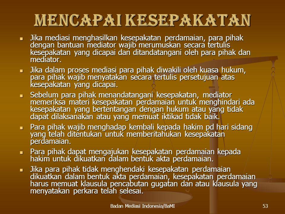 54Badan Mediasi Indonesia/BaMI