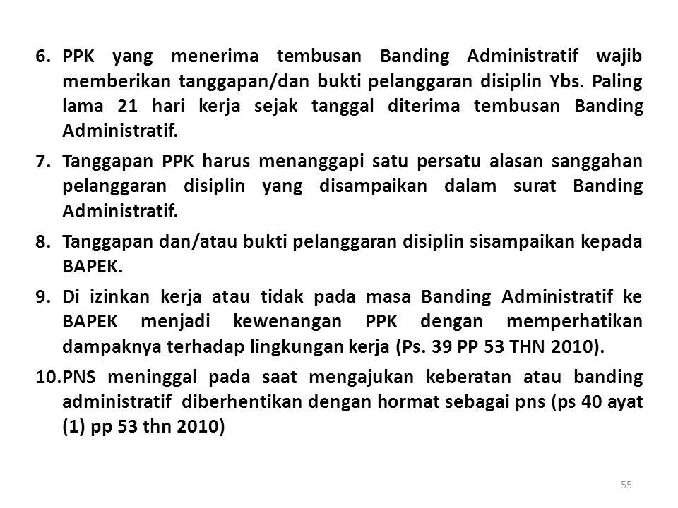 TATA CARA PENGAJUAN BANDING ADMINISTRATIF. 1.Surat Banding Administratif harus ditujukan dan disampaikan kepada BAPEK dan tembusan ke PYBM. 2.Penyampa