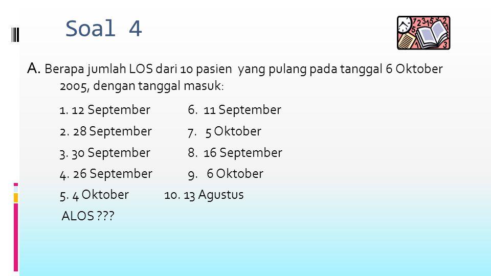 Soal 4 A.