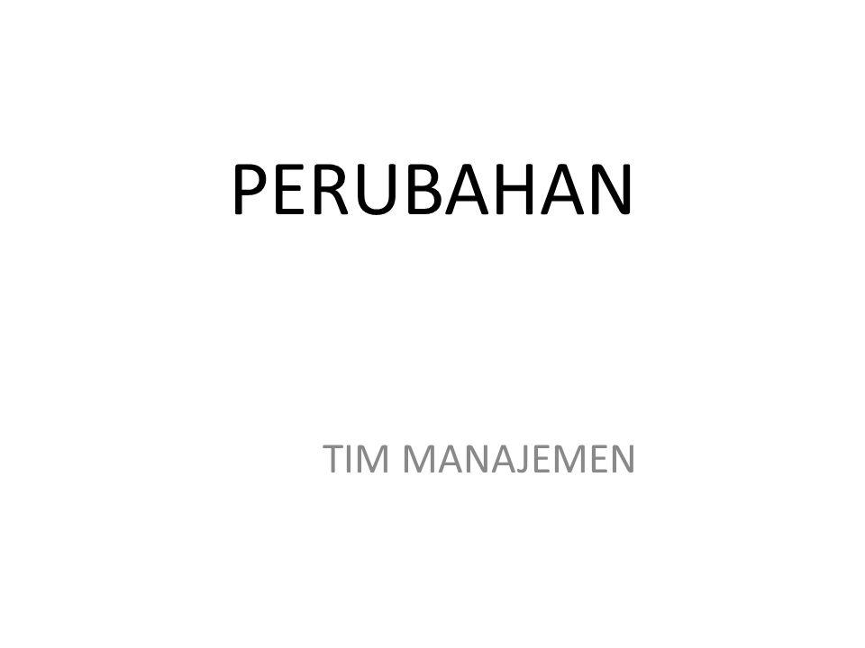 PERUBAHAN TIM MANAJEMEN