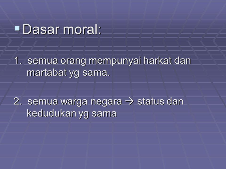Prinsip dasar  konsekuensi legal dan moral: Prinsip dasar  konsekuensi legal dan moral: 1.