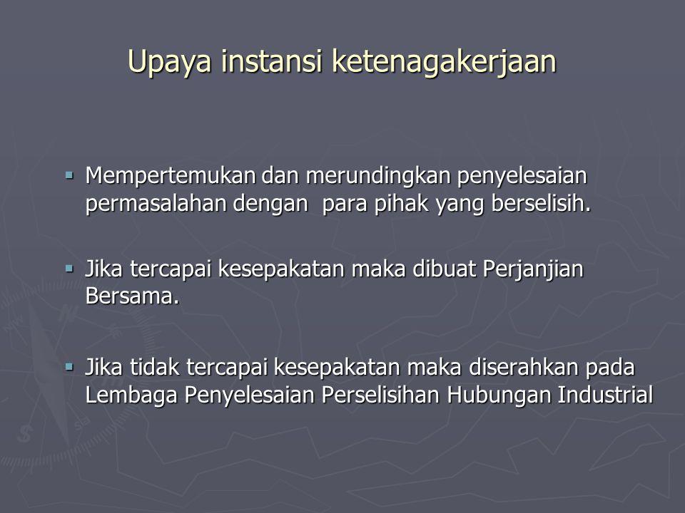 PEMUTUSAN HUBUNGAN KERJA PHK demi hukum PHK atas dasar kesepakatan pekerja – pengusaha PHK sepihak PHK karena keputusan pengadilan