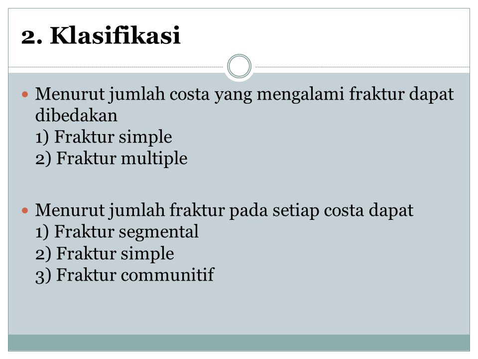 2) Pemeriksaan fisik.