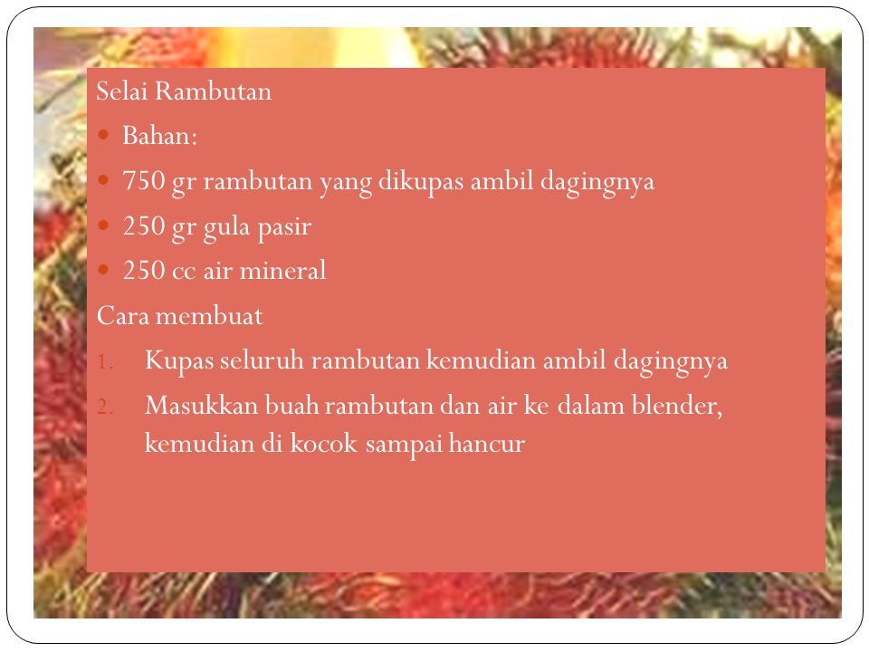 Pembuatan Tepung Pisang Bahan tepung pisang adalah pisang yang sudah agak matang (hampir semua varietas bisa untuk dijadikan tepung).