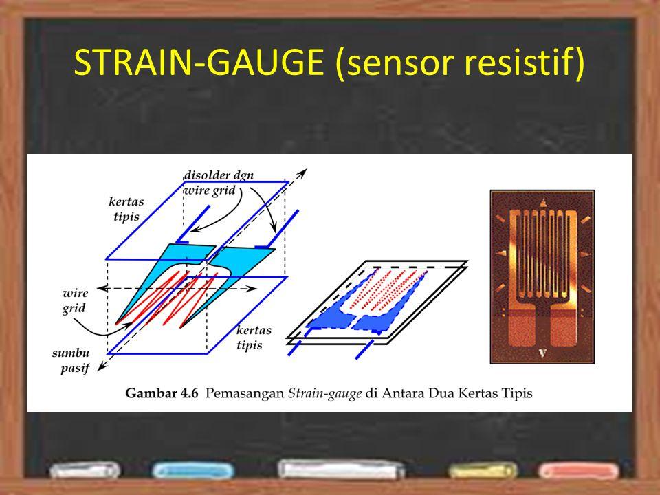 STRAIN-GAUGE (sensor resistif)