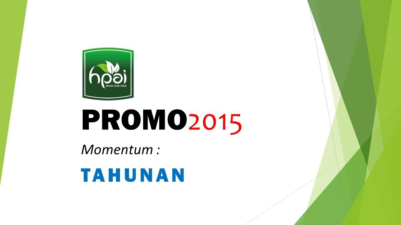 PROMO 2015 Momentum : TAHUNAN