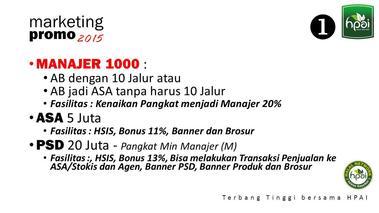 Promo 2015 Terbang Tinggi bersama HPAI marketing Promo Flying Eagle (FE) adalah promo tambahan bonus bagi Agen atas prestasi kenaikan bonus murni bulanan Agen.