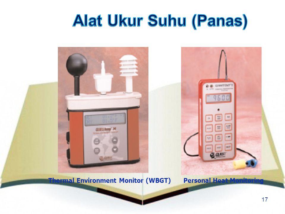 17 Thermal Environment Monitor (WBGT)Personal Heat Monitoring