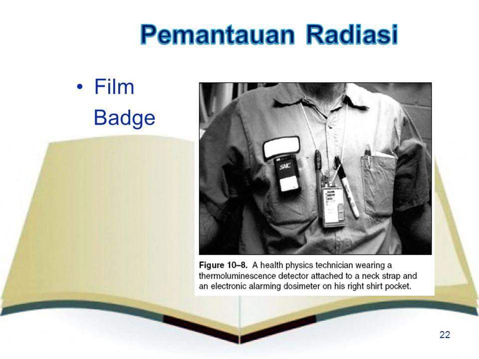 22 Film Badge