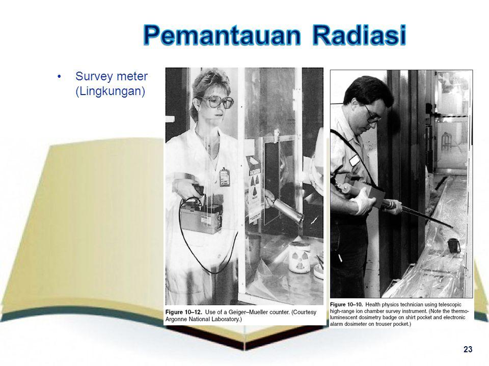 Survey meter (Lingkungan) 23