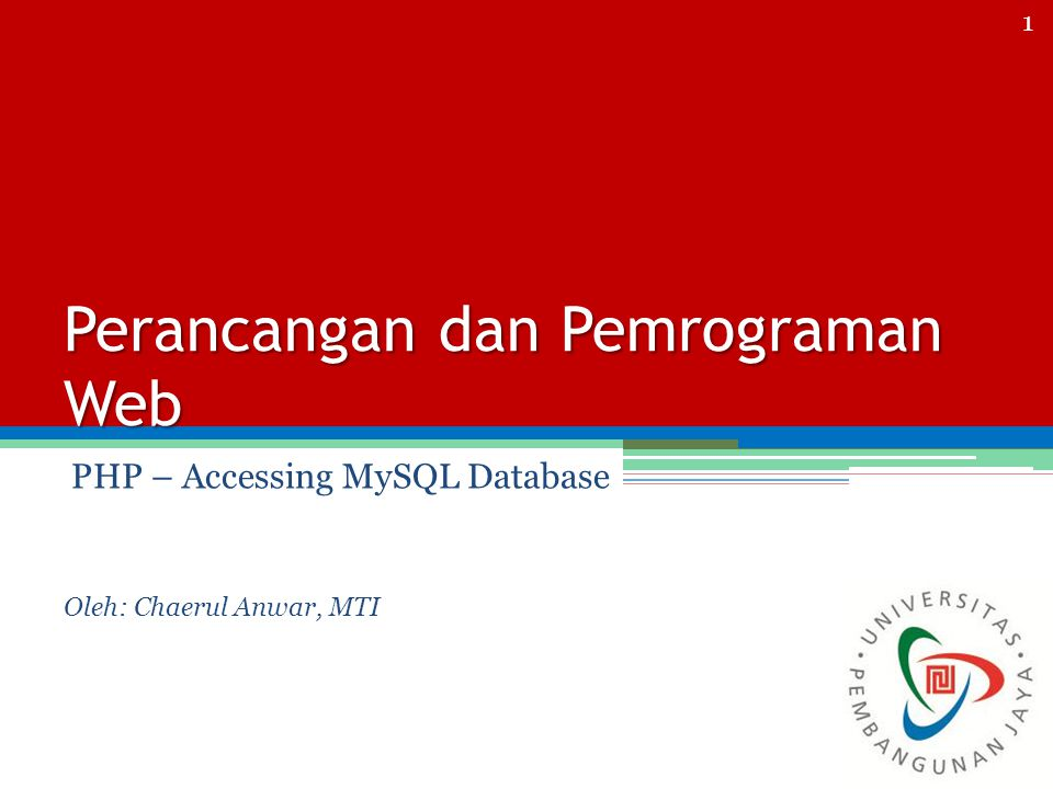 Latihan Buat table: Biodata UserId INT (3), NamaLengkap VARCHAR (50) TglLahir DATE AlamatVARCHAR (50) AsalSMAVARCHAR (50) JurusanSMAVARCHAR (50) ==== Isi 5 data table : Biodata Dan 3 data table UserTable 12 Membuat database CREATE DATABASE Menghapus database DROP DATABASE Membuat tabel CREATE TABLE userTable( UserId INT (3), UserName VARCHAR (50), Password VARCHAR (50), NamaLengkap VARCHAR (50) ); Menghapus tabel DROP TABLE ;