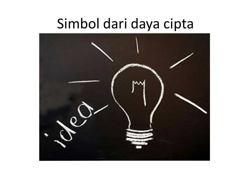 Simbol dari daya cipta