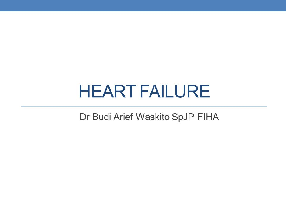 Various targets for therapies used in the management of acute decompensated heart failure 62