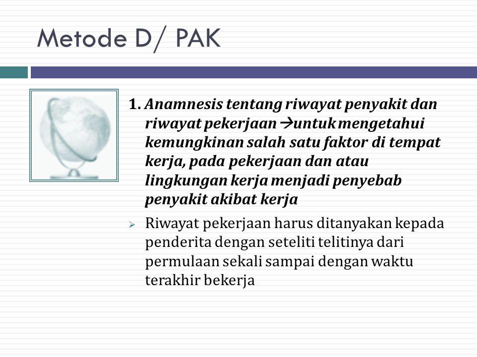 Metode D/ PAK 1.