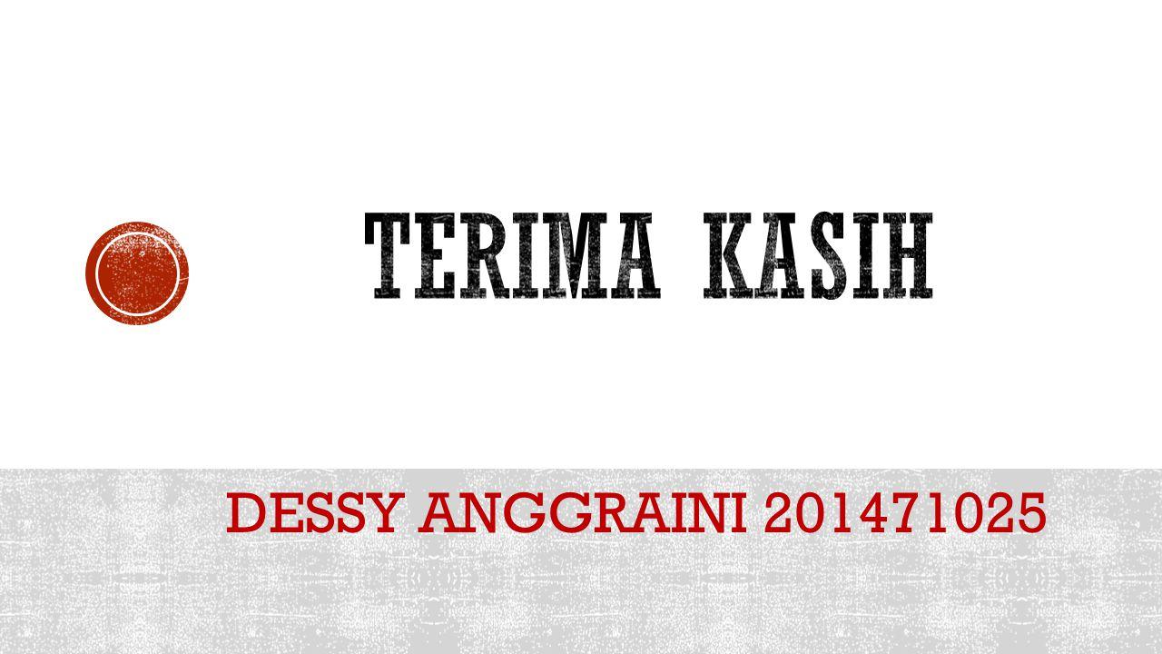 DESSY ANGGRAINI 201471025