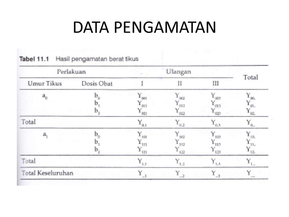 DATA PENGAMATAN