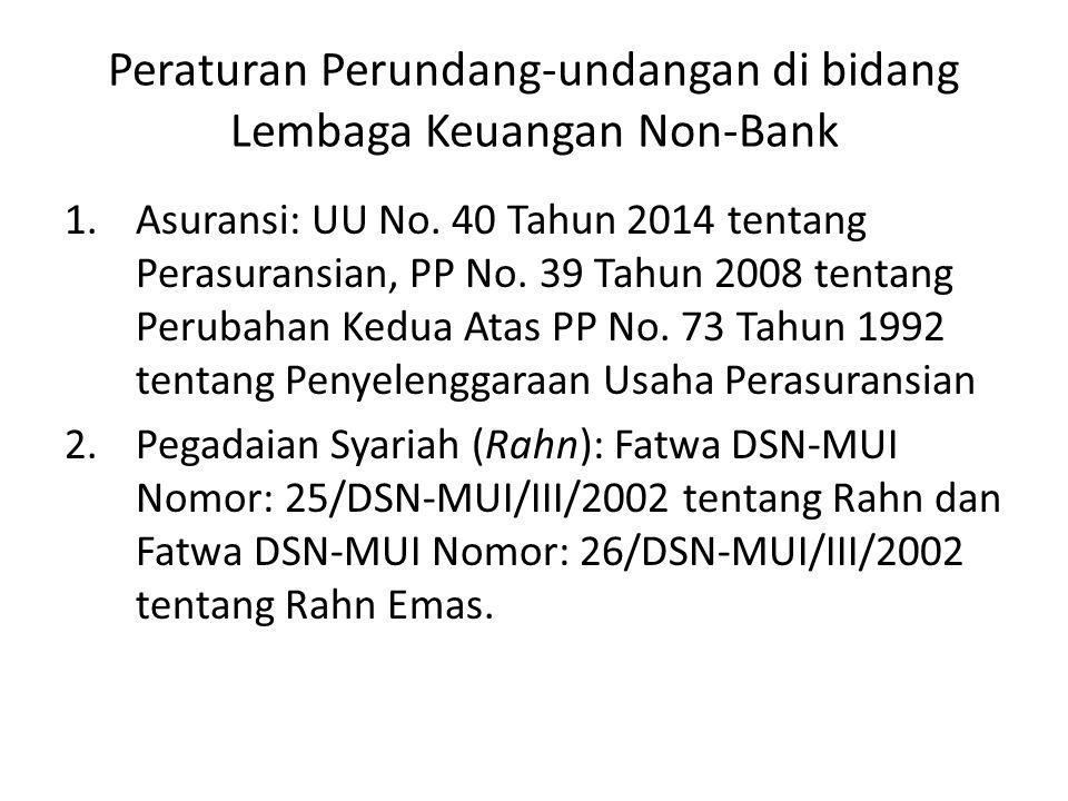 ……Lanjutan Produk perbankan syariah dapat kita klasifikasikan menjadi 3 (tiga) kelompok yaitu: (1) produk penghimpunan dana; (2) produk penyaluran dana; dan (3) produk di bidang jasa.