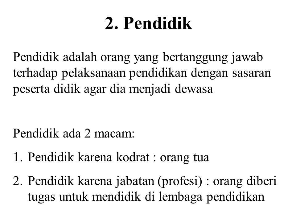 UU RI No. 20/2003 (Bab V, pasal 12, ayat 1): Setiap peserta didik pada setiap satuan pendidikan berhak: a. Mendapatkan pendidikan agama sesuai dengan