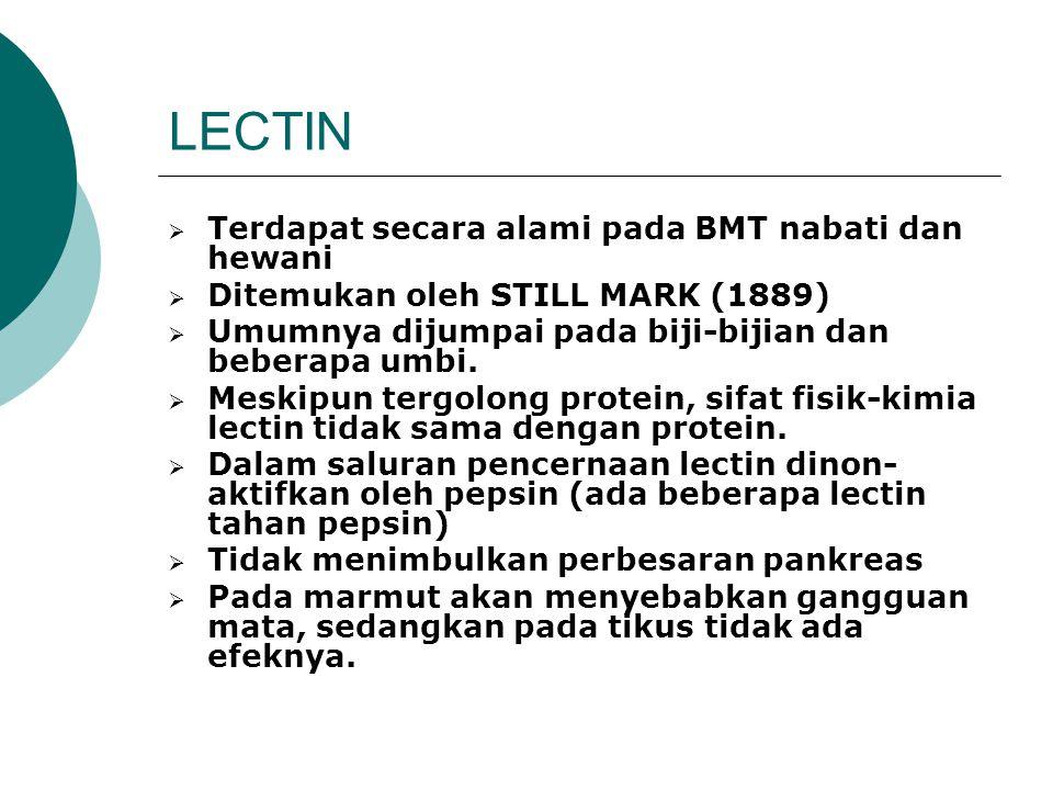 Cara mengurangi Protease Inhibitor pada BMT a. Pemanasan basah (dimasak/ auto claving) b. Pemanasan kering (sangrai/ oven) c. Extruksi d. Pemanasan de