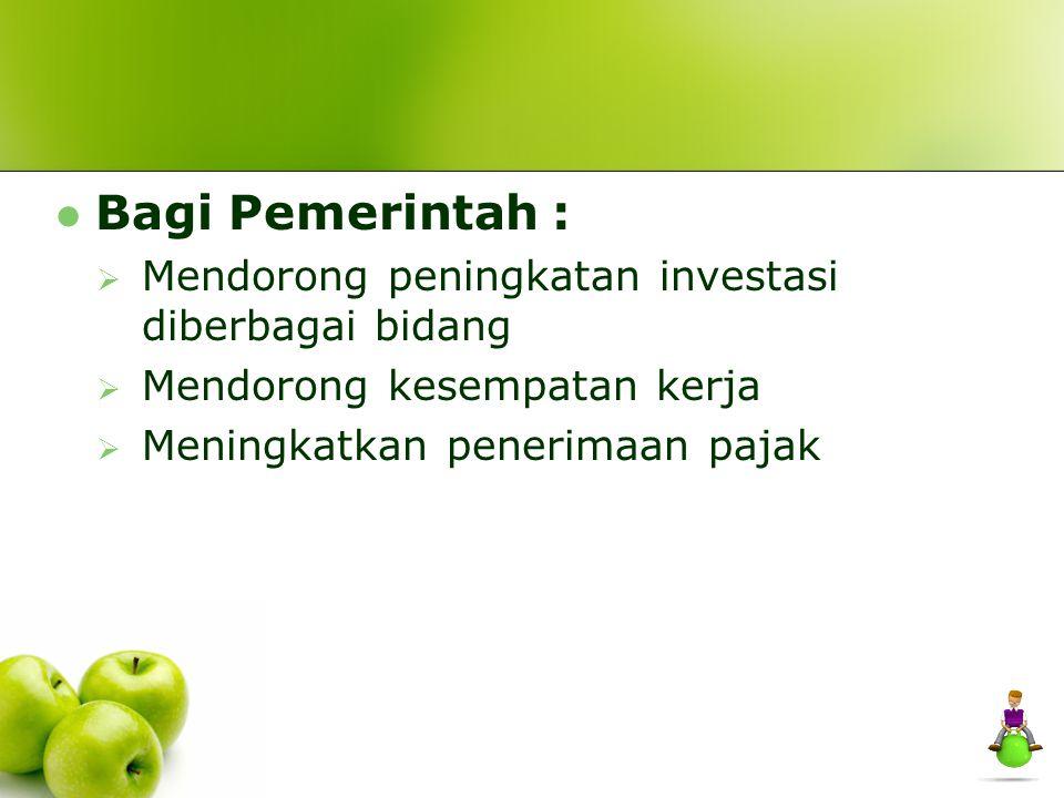 KEUNTUNGAN Manfaat Perusahaan Dana Pensiun :  Keuntungan dari pengalihan dana ke investasi