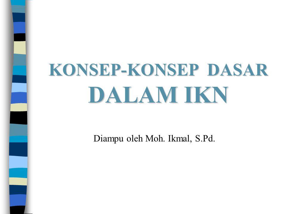 KONSEP-KONSEP DASAR DALAM IKN Diampu oleh Moh. Ikmal, S.Pd.