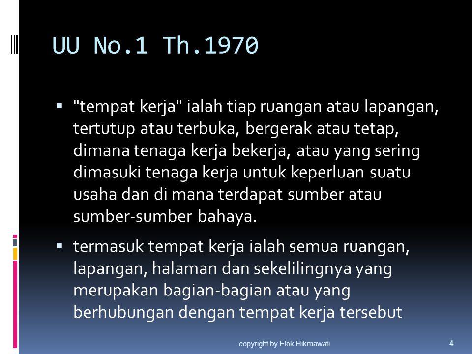 Tujuan Pemerintah membuat aturan K3 ( Pasal 3 Ayat 1 ) 1.
