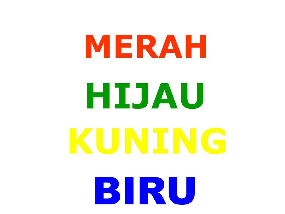 MERAH KUNING HIJAU BIRU