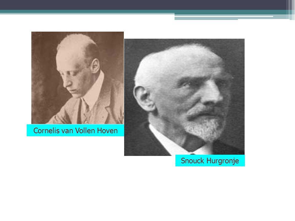 Cornelis van Vollen Hoven Snouck Hurgronje