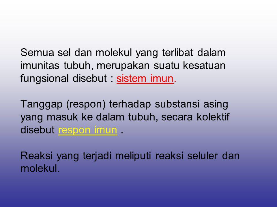 Manfaat imunologi untuk kesehatan / kedokteran 1.