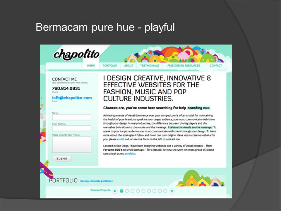 Bermacam pure hue - playful